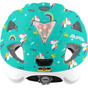 Alpina Ximo Flash Helm Kinder unicorn gloss
